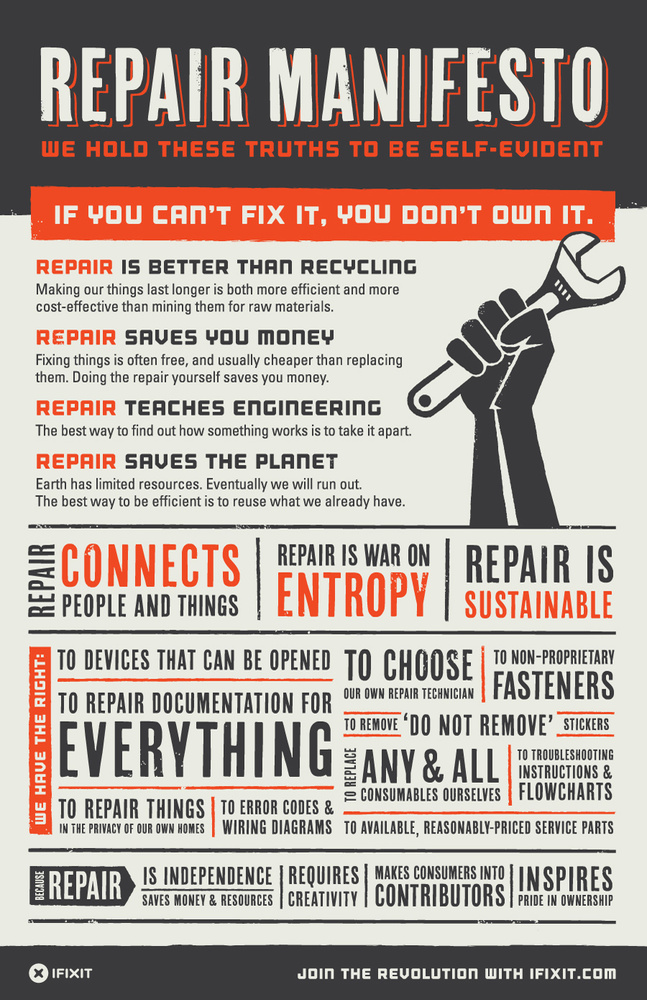 Ifixit self repair manifesto 900x1390
